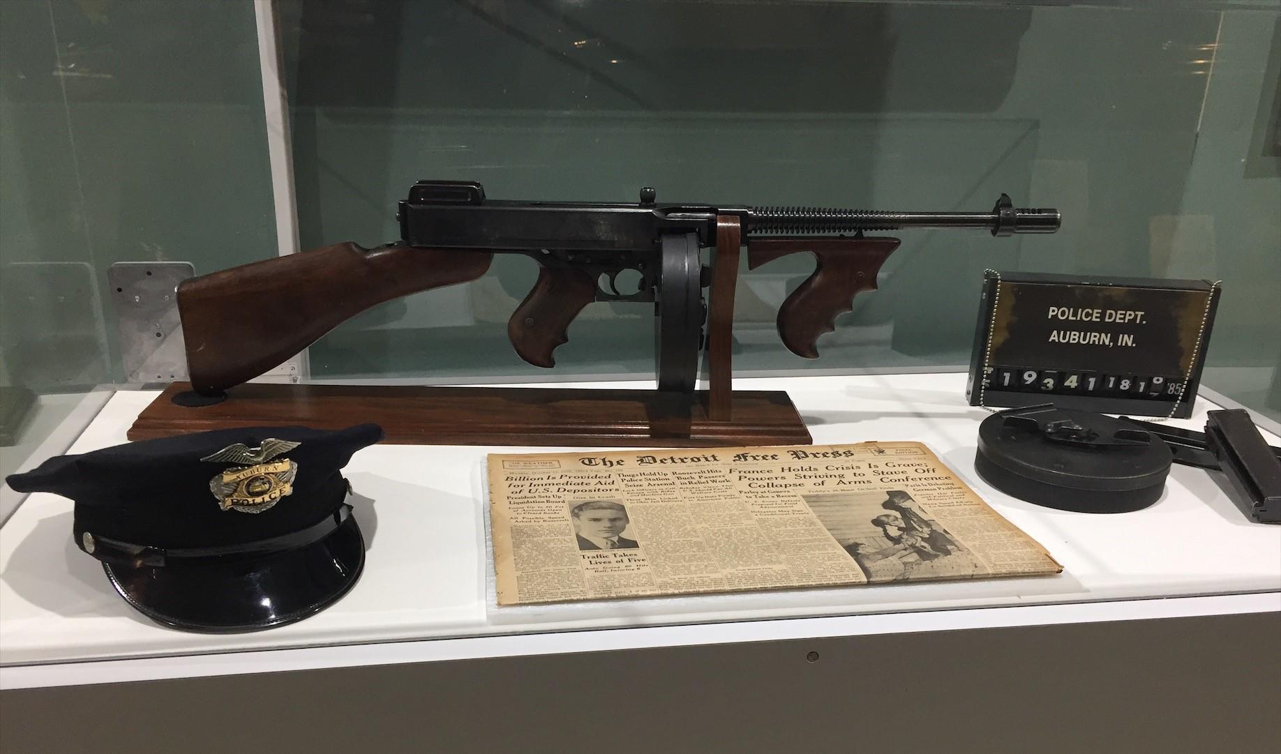 John Dillinger, Hoosier Hoodlum | DeKalb County Visitors Bureau