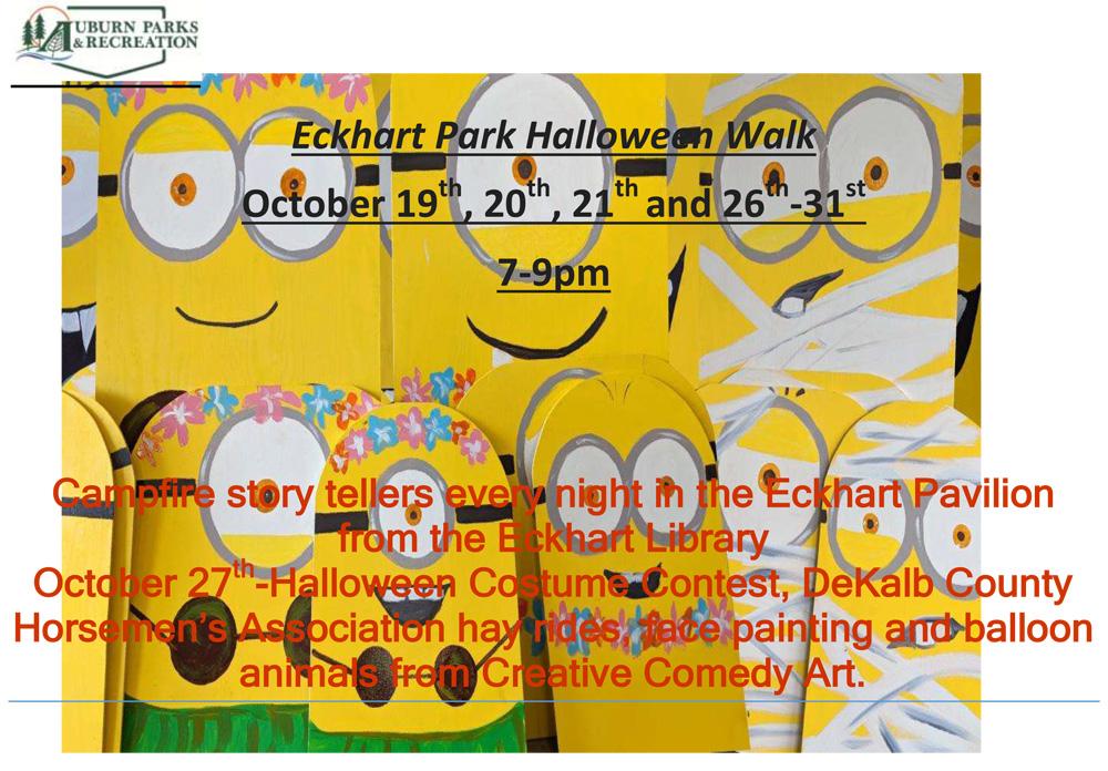 2018 Eckhart Park Halloween Walk