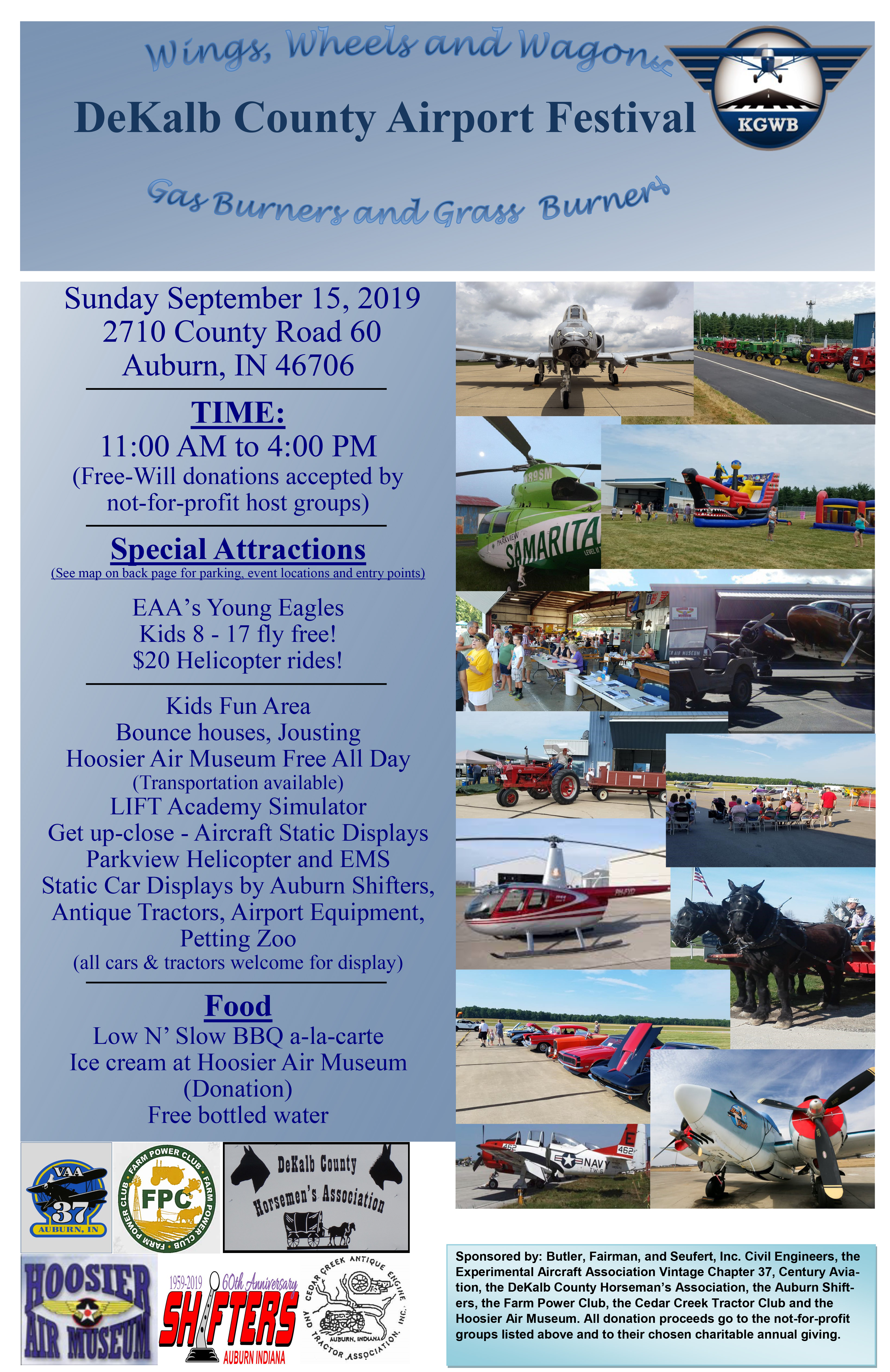Wings, Wheels and Wagons Festival