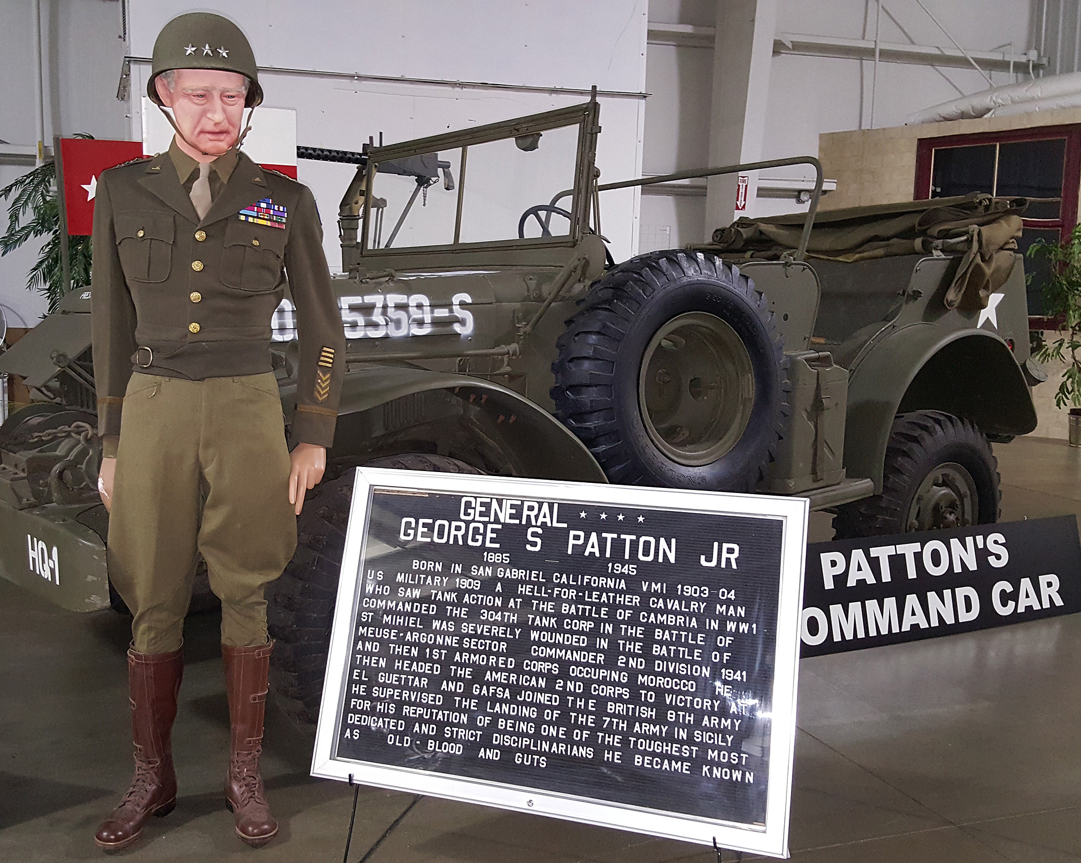 National Military Gen Patton