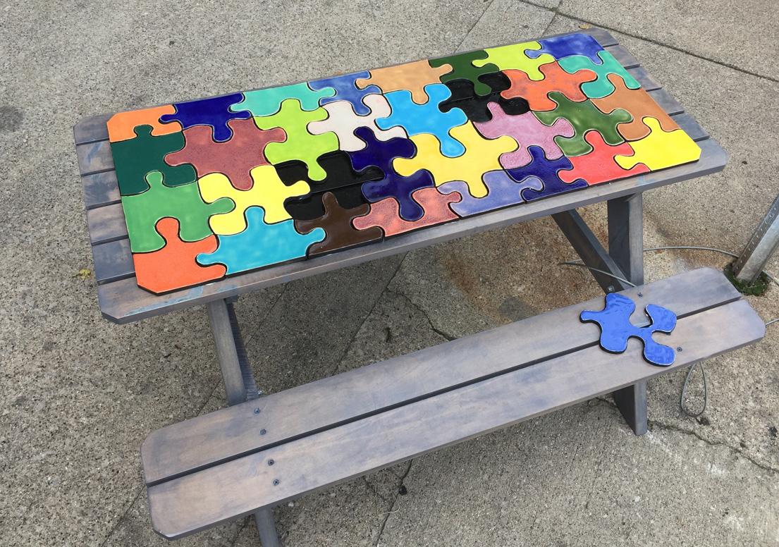 Eccentric summer picnic puzzle